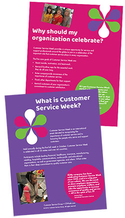 Customer Service Week Bulletin