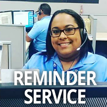 Customer Service Week Reminder Service