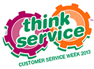 Customer Service Week 2013 Logo