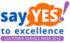 Customer Service Week 2014 Logo