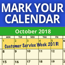 Customer Service Week History