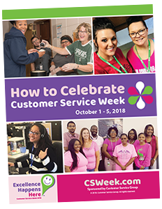 Customer Service Week Organizers Guide Download