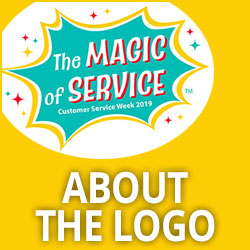 Customer Service Week About the Logo